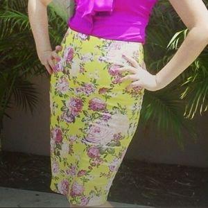 Beautiful Spring/Summer Pencil Skirt